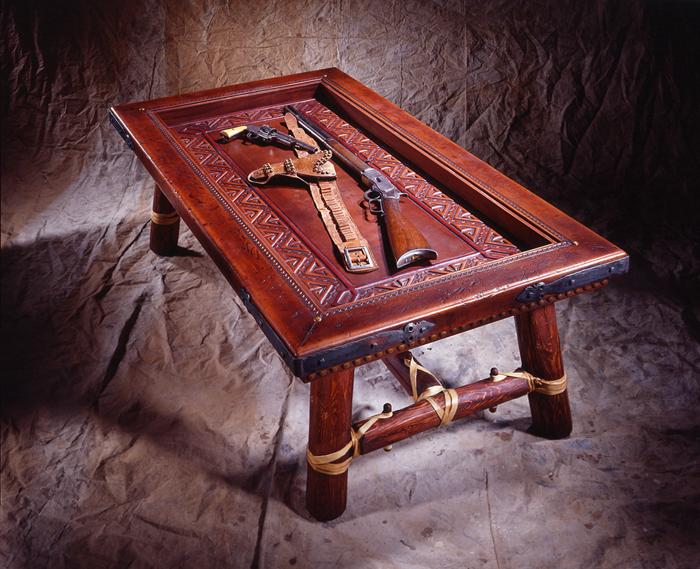 Shadowbox Display Coffee Table